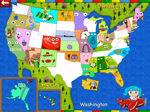 Explore the USA with Roxy (Social Science Education ...